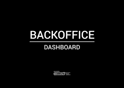 BACKOFFICE – DASHBOARD