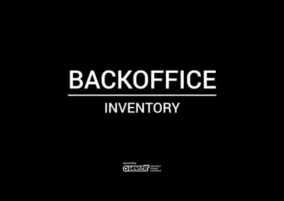 BACKOFFICE – INVENTORY